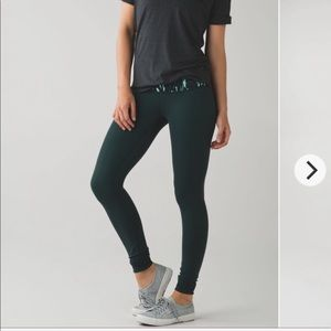 LULULEMON Wunder Under reversible leggings